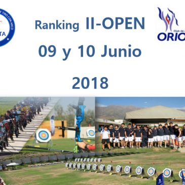 Convocatoria Ranking II (09 y 10 Junio)
